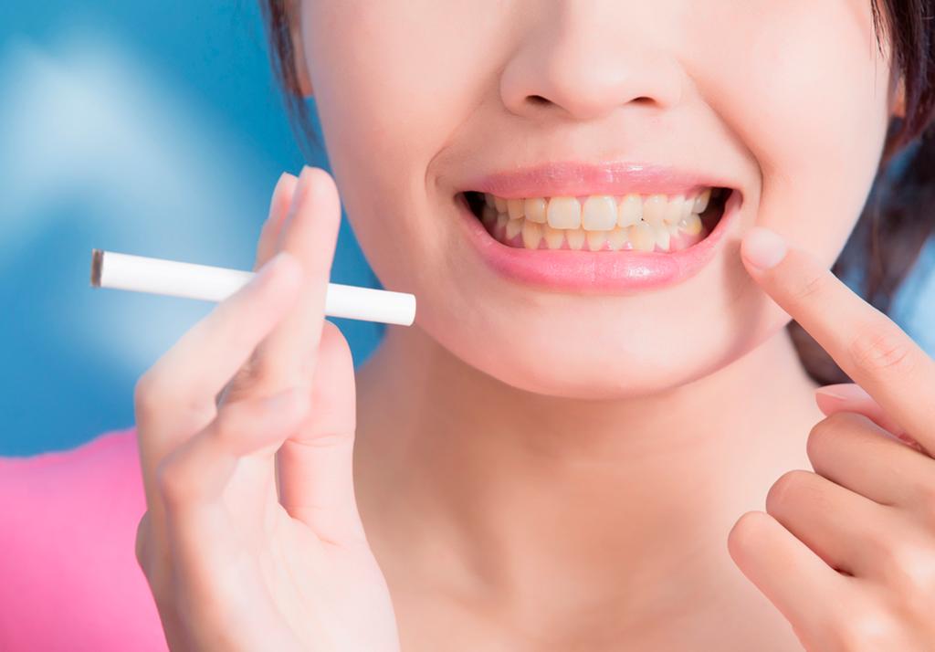 tabaco e clareamento dental